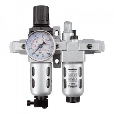 Aurora Tools - TYY179 - Modular Filter/Regulator & Lubricator (Gauge Included)