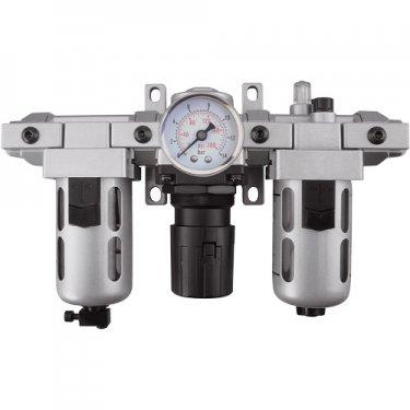 Aurora Tools - TYY182 - Modular Filter, Regulator & Lubricator (Gauge Included)