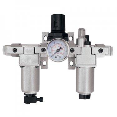 Aurora Tools - TYY185 - Modular Filter, Regulator & Lubricator (Gauge Included)