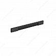 Contemporary Aluminum Pull - 1310 - 224 mm - Brushed Black - Unit Price