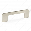 Contemporary Metal Pull - 730 - 96 to 128 mm - Brushed Nickel - Unit Price