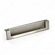 Contemporary Recessed Metal Pull - 8971