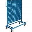 KLETON - CB359 - Mobile Bin Racks - Singled Sided - 36 x 16 x 46-1/2 - No Bins - Unit Price