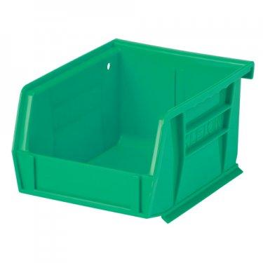 KLETON - CF821 - Stack & Hang Bin - 4-1/8 x 7-3/8 x 3 - Green - Unit Price
