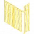 Kleton - KH940 - Wire Mesh Partition Components - Sliding Doors