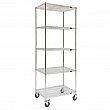 Kleton - MJ535 - Wire Shelf Cart Each