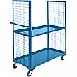 Kleton - ML163 - Wire Mesh Utility Cart Each