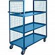 Kleton - ML185 - Wire Mesh Utility Cart Each
