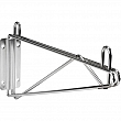 Kleton - RL612 - Chromate Wire Shelving -  Direct Wall Mounts