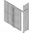 Kleton - RN623 - Heavy-Duty Wire Mesh Partition Sliding Door