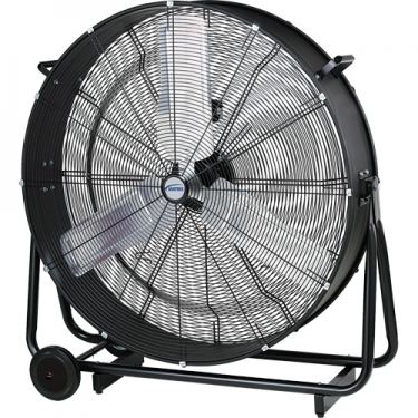 Matrix Industrial Products - EB114 - Light Industrial Direct-Drive Slim Drum Fan Each
