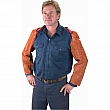 Weld-Mate - TTU389 - Lava Brown Leather Sleeves