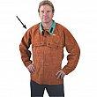 Weld-Mate - TTU405 - Lava Brown Leather Cape Sleeves