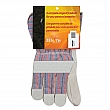 Zenith Safety Products - SAP225R - Superior Quality Split Cowhide Patch Palm Fitters Gloves