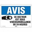 Zenith Safety Products - SGI146 - Sous vidéosurveillance Sign Each