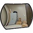 Zenith Safety Products - SGI561 - Roundtangular Convex Mirror with Bracket Each