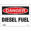 Zenith Safety Products - SGL539 - Diesel Fuel Sign Each