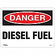 Zenith Safety Products - SGL544 - Diesel Fuel Sign Each