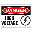 Zenith Safety Products - SGL626 - High Voltage Sign Each