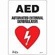 Zenith Safety Products - SGL773 - AED Automated External Defibrillator Sign Each