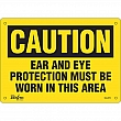 Zenith Safety Products - SGL879 - Ear And Eye Protection Sign Each