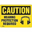 Zenith Safety Products - SGL911 - Hearing Protection Required Sign Each