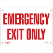 Zenith Safety Products - SGM071 - Emergency Exit Sign Each