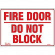 Zenith Safety Products - SGM088 - Fire Door Sign Each