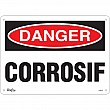 Zenith Safety Products - SGM316 - Corrosif Sign Each