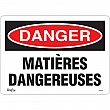 Zenith Safety Products - SGM344 - Matières Dangereuses Sign Each