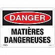 Zenith Safety Products - SGM345 - Matières Dangereuses Sign Each