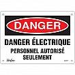 Zenith Safety Products - SGM379 - Personnel Autorisé Seulement Sign Each