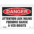Zenith Safety Products - SGM446 - Prendre Garde À Vos Doigts Sign Each