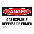 Zenith Safety Products - SGM578 - Enseigne «Défense De Fumer» Chaque