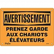 Zenith Safety Products - SGM591 - Prenez Garde Sign Each
