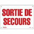 Zenith Safety Products - SGM608 - Enseigne «Sortie De Secours» Chaque