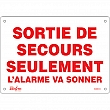 Zenith Safety Products - SGM614 - Sortie De Secours Sign Each