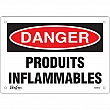 Zenith Safety Products - SGM632 - Produits Inflammables Sign Each
