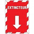 Zenith Safety Products - SGM656 - Extincteur Arrow Sign Each