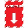 Zenith Safety Products - SGM657 - Extincteur Arrow Sign Each