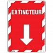 Zenith Safety Products - SGM659 - Extincteur Arrow Sign Each