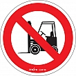 Zenith Safety Products - SGM796 - No Forklifts CSA Safety Sign Each