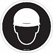 Zenith Safety Products - SGM859 - Hard Hat Protection Required CSA Safety Sign Each