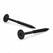 Reliable - FTKNC17BP103R - PWR DRIVE CAB Wood Screw, Square Drive, Coarse Thread - Size: 10 - Length: 3 - Black phosphate - Square n.2 - Box of 200