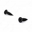 Reliable - 56925FBIP - Wood Screw, Flat Head, Quadrex Drive, Regular Thread, Type 17 Point - Black - Size: 9 - Square # 2 -  Length:  - Box of 600
