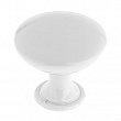 Contemporary Metal Knob - 9041 - 40 mm - White