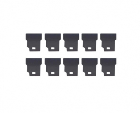 PolyDistribution - Felt (Head Felt) for large format printer [DX4] - Mutoh series DX4 -  Price per pack of 10