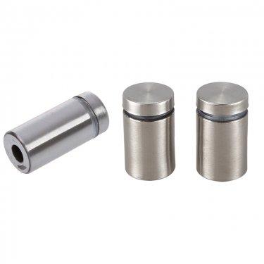 PolyDistribution - Standoff - 25 mm x 30 mm - Brushed Nickel Finish - Unit Price